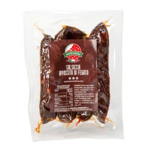 Acquista la nostra salsiccia appassita di fegato. Clicca e scopri il nostro shop online!