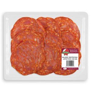 Salame Ventricina Vaschetta 100 gr.