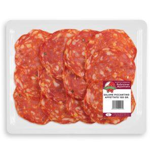 Salame Piccantino Vaschetta 100 gr.