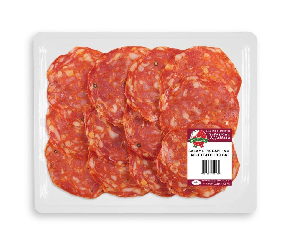 Salame Piccantino Barquette 100 gr.