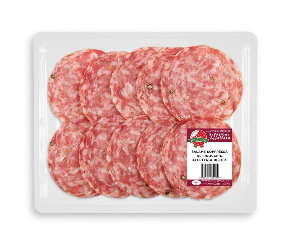Soppressa al Finocchio Prepacked 100 gr.