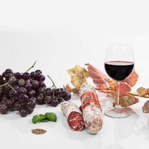 Salame al vino Montepulciano D'Abruzzo